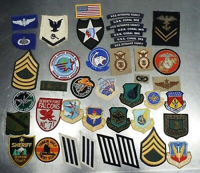 Usaf Us Army Raf Paratrooper Ranger Airborne Military Patch Group Old Young Lot2