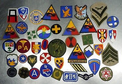 Usaf Us Army Raf Paratrooper Ranger Airborne Military Patch Group Old Young Lot4