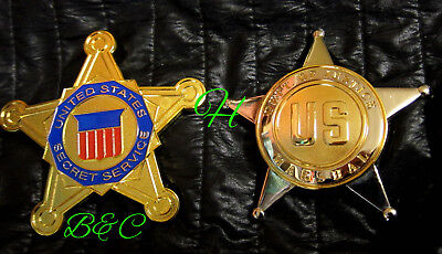 gf/ Historisches police badge+ choose US Marshal or US Secret Service