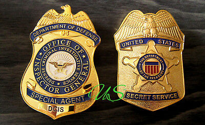 gf/ Historisches police badge+ Choose DCIS Special Agent OR Secret Service USSS