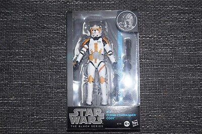 Star Wars Commander Cody Black Series #14 6 inches