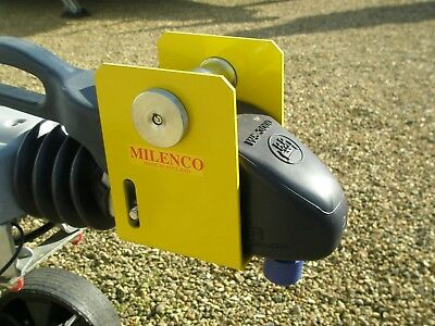 Milenco Super Heavy Duty Winterhoff Ws3000 Hitchlock Caravan Security Lock 2851