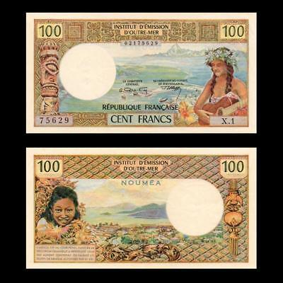 1971 French New Caledonia France Noumea, 100 Francs »Cv $125« ~Rare ~