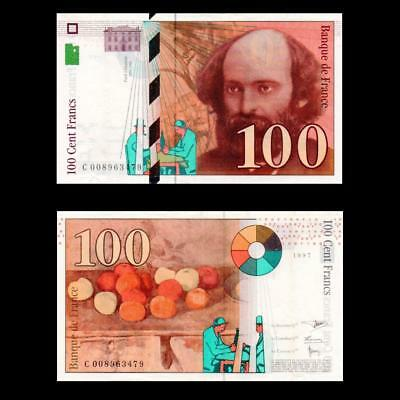 1997 France French, 100 Francs - » Cv $50 «