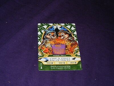 Sorcerers of the Magic Kingdom Chip n' Dale Halloween Party Mint 01/P 2012