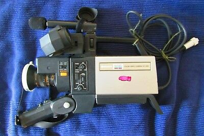 Hitachi Saticon Color Video Camera VK-C850 - Große Vintage Video Kamera