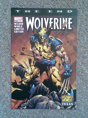 Wolverine The End #1 David Finch Wizard World Texas 2003 Variant UNREAD
