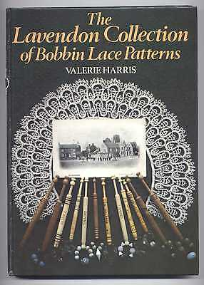 THE LAVENDON COLLECTION OF BOBBIN LACE PATTERNS LACE history BOOK