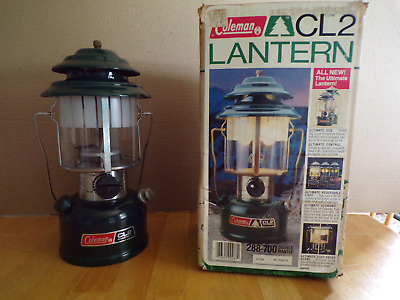 Coleman Cl2 Lantern 288-700 Double Mantle W/box  Nice!