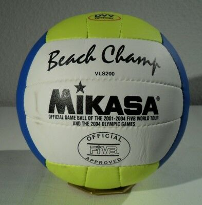 neuer MIKASA VLS 200 BEACH VOLLEYBALL - Official FIVB - VLS200 Beach Champ