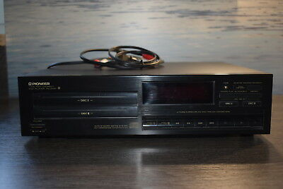 Pioneer Twin Tray CD Player PD-Z73T Doppel Disc System ~ gebraucht, aber gut!