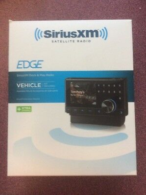 Sirius XM Edge Dock & Play Radio  PowerConnect Vehicle Kit
