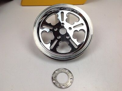 00-07 Genuine Harley Dyna Touring Softail Black Rear Pulley 70T Tooth sprocket