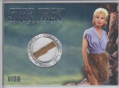 2018 Star Trek TOS Captain's Collection Susan Oliver Costume/Relic VINA The Cage