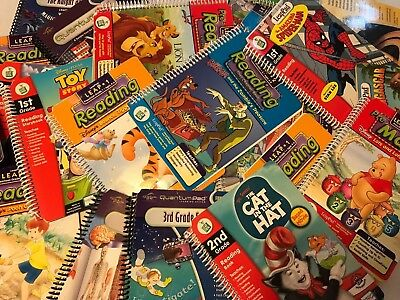 LeapPad Leap frog Quantum Books And Cartridge Variety U Pic Buy 4 Get One Free!!