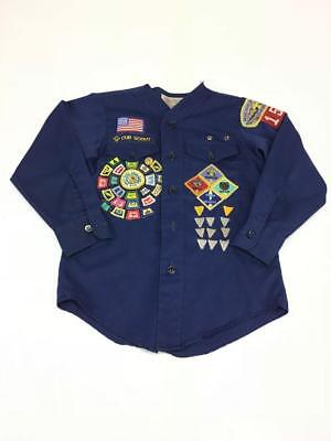 Boy Scouts Cub Scouts Snake River Council shirt with patches
