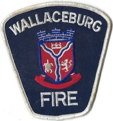 Wallaceburg Canada Fire Department Patch