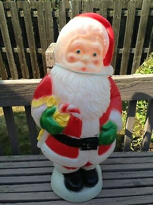 General Foam Plastics Dancing Santa Blow Mold