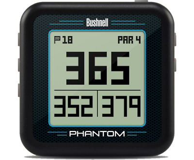 2018 Bushnell PHANTOM GPS Preloaded with 36,000+ Courses -  NO FEES - Black