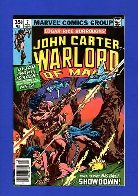 John Carter, Warlord Of Mars #7 Nm- 9.2/9.4 High Grade Bronze Age Marvel Comic
