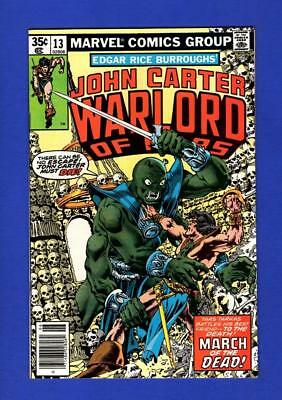 John Carter, Warlord Of Mars #13 Nm- 9.2/9.4 High Grade Bronze Age Marvel Comic