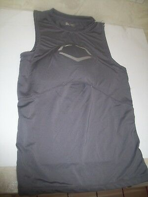 EvoShield CHEST GUARD SLEEVELESS compression SHIRT  adult med g2s $59.99