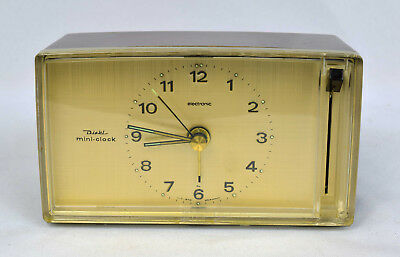 Diehl Mini Clock Electronic Made in Germany *** voll funktionsfähig ***
