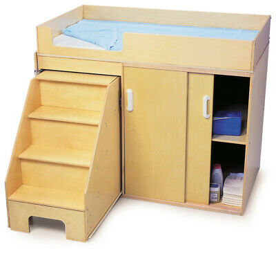 Genial Whitney Brothers Toddler Changing Cabinet With Stairs