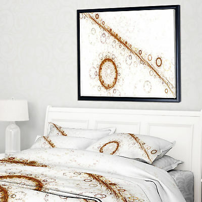 'Live Cell Protein under Microscope' Framed Graphic Art Print on Wrapped Canvas