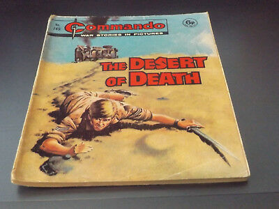 Commando War Comic Number 749!,1973 Issue,good For Age,45 Years Old,very Rare.