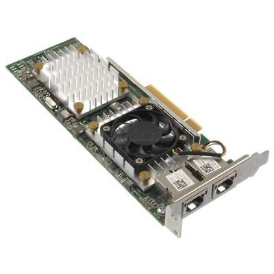 Dell Converged Network Adapter 57810S Dual-Port 10GBASE-T PCI-E LP W1GCR