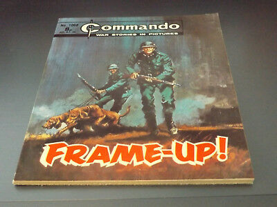 Commando War Comic Number 1068!,1976 Issue,v Good For Age,42 Years Old,very Rare