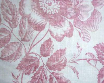 Summer Clearout, Fragment 19Th Century French Linen Toile De Jouy, Ref 99.