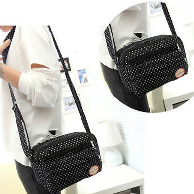 Portable Small Mummy Diaper Bags Baby Nappy Canvas Shoulder Changing Bag Z