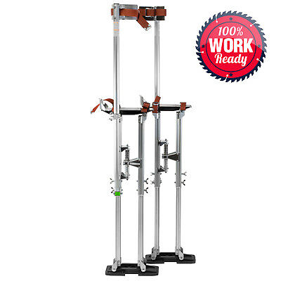 """OPEN BOX - Drywall Painters Walking Stilts Taping Tools - Adjustable 36"""" - 48"""""""