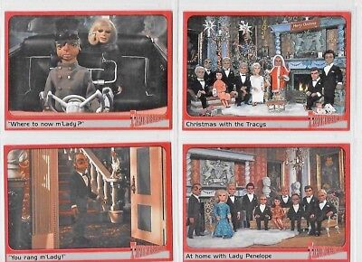 Thunderbirds Ultra Rare Cards R1 To R4  By Cards Inc  Choose