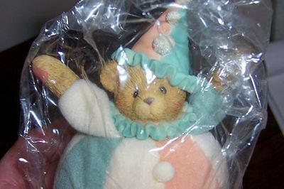 Sparky #789879 Soft Base - Cherished Teddies by Enesco -Nice - in Plastic