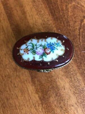 Limoges Box, Hand Painted By Yeda, France