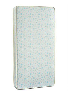 Fisher-Price Beddy Bye Baby Toddler Foam Crib and Toddler Bed Mattress, White