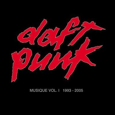 DAFT PUNK MUSIQUE VOL.1 1993-2005 CD (Best Of / Greatest Hits)