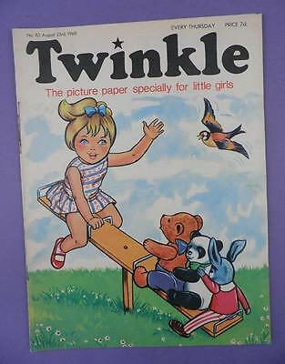 Twinkle Comic, Picture Paper For Little Girls #83, August 23rd 1969