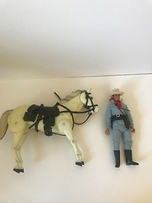 1970s LONE RANGER GABRIEL ACTION FIGURES VERY UNIQUE AND RARE