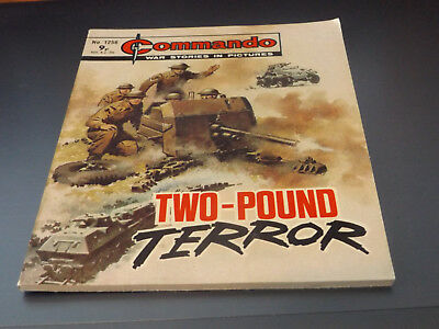 Commando War Comic Number 1256!,1978 Issue,v Good For Age,40 Years Old,very Rare
