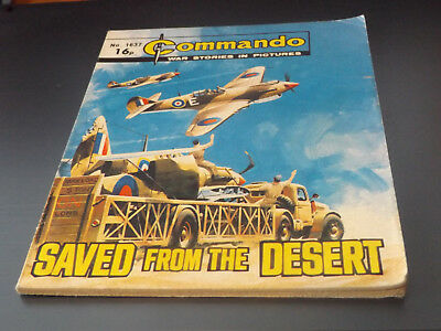 Commando War Comic Number 1637!,1982 Issue,v Good For Age,36 Years Old,very Rare