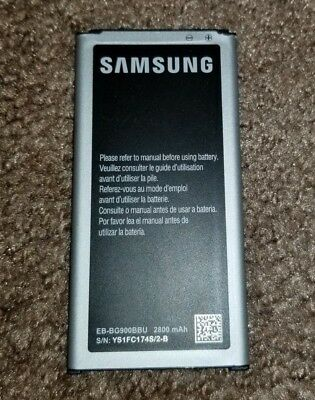 NEW OEM SAMSUNG BATTERY EB-BG900BBU 2800 mAh REPLACEMENT BATTERY FOR GALAXY S5