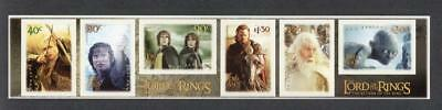 New Zealand Mnh 2003 Sg2658-2663 The Lord Of The Rings 3Rd Issue S/A