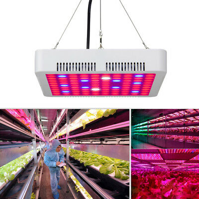 LED Grow Light Panel Lamp for Hydroponic Indoor Plant Growing Full Spectrum