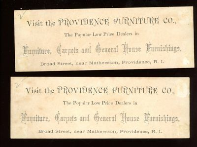 Book Marks-Providence, Rhode Island-Providence Furniture Co.-lot of 2-birds