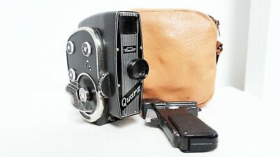 Vintage USSR Clockwork Quarz Kbapu 2  8mm Movie film camera Retro