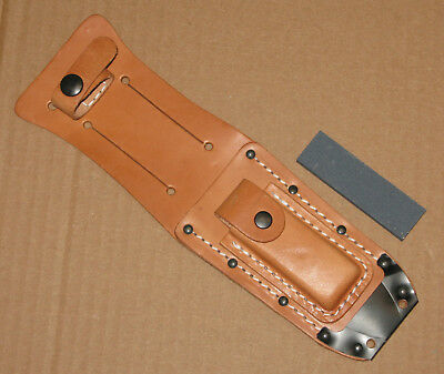 USAF Air Force pilot survival combat knife sheath & stone only